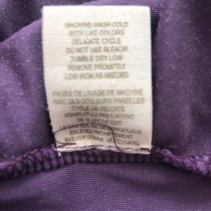 Free People Dresses - Free People Purple Velvet Baby Doll Dress Large